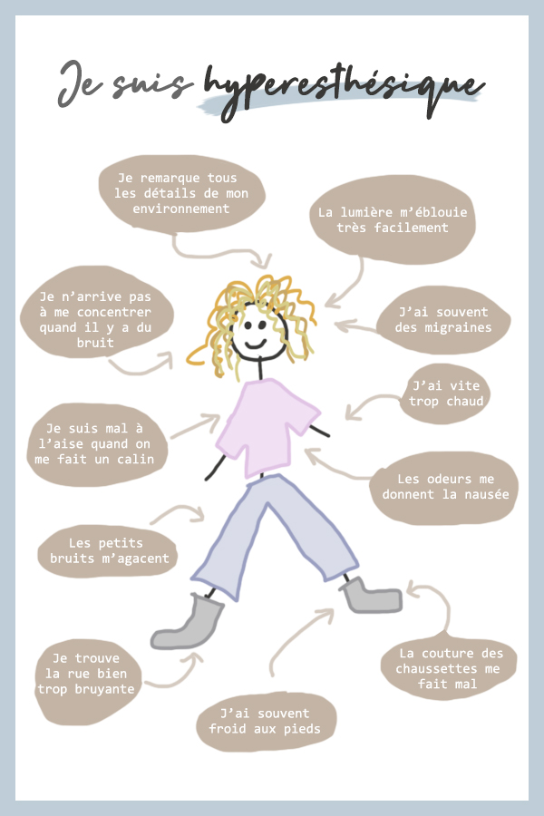 Comment reconnaître un hyperesthésique