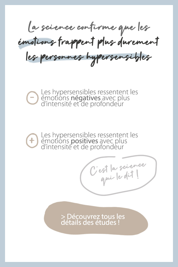 La science confirme que les émotions frappent plus durement les personnes hypersensibles