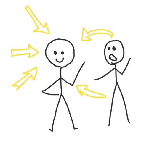 Le HPI ressent les émotions des autres