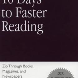 10 Days to faster reading (The Princeton Language Institute) – Résumé et avis