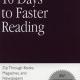 10 Days to faster reading (The Princeton Language Institute) – Résumé et avis